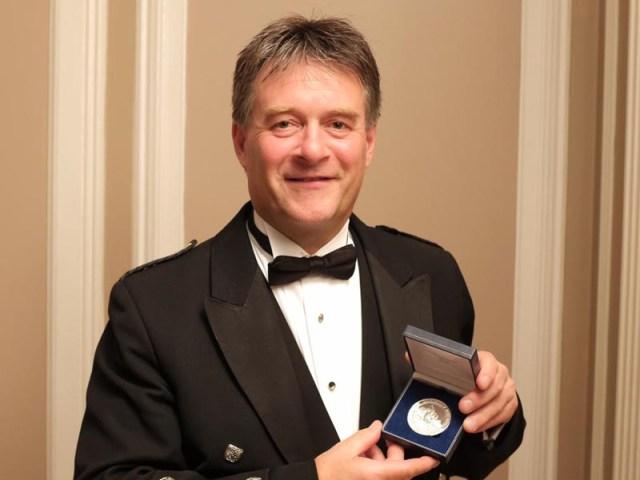 Angus D. MacColl wins Captain John MacLellan Medal