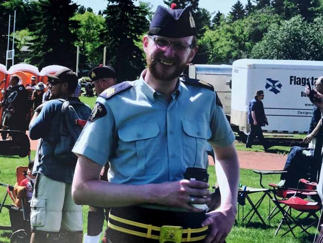 Royal Canadian Mounted Police band P-M recovering from severe burns after house fire