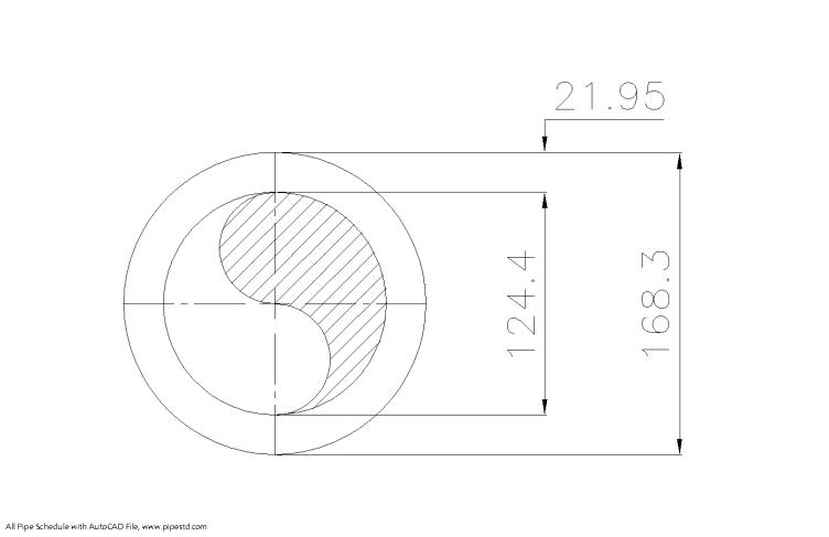 Schedule XXS Pipe 6 Inch DN150