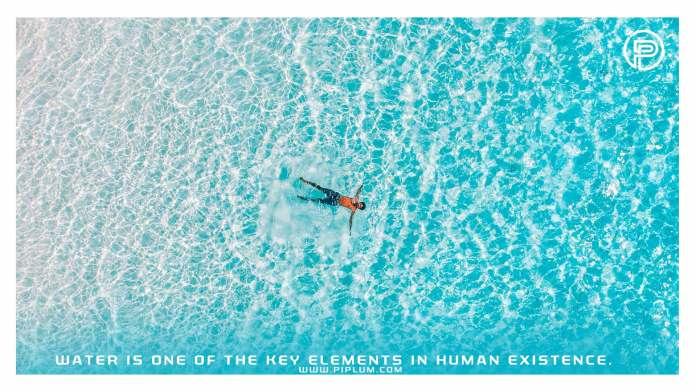 man-floating-ocean-Water-is-one-of-the-key-elements-in-human-existence-Inspirational-quote