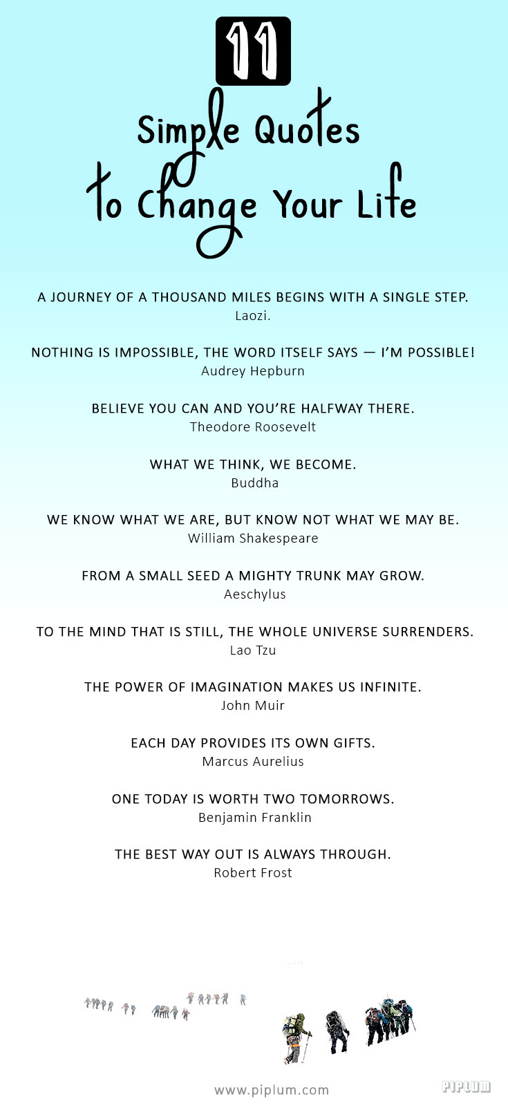 11 Simple Ispirational Quotes To Change Your Life Pictures