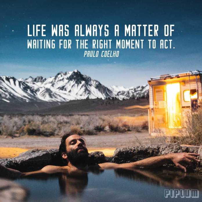 Life-quote-chill-nature-hot-tub-man-mountains
