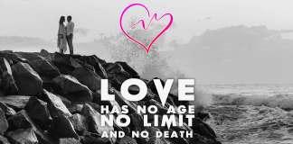 Love-has-no-limits-quote-couple-ocean-rocks-port-gate