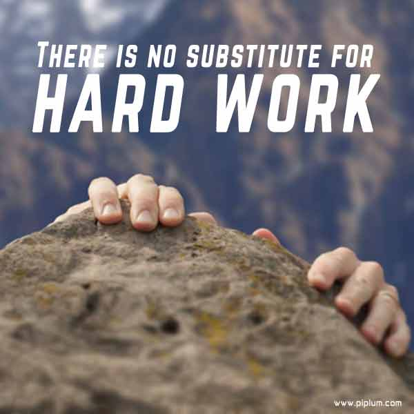 There-is-no-substitute-for-hard-work-Quote