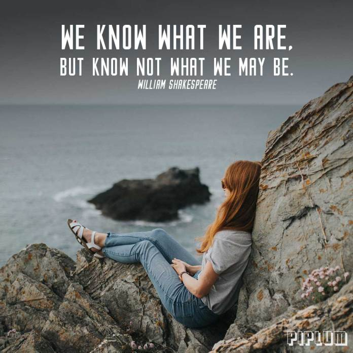 Redhead-women-sitting-on-the-rocks-and-looking-towards-ocean-inspirational-text-in-front