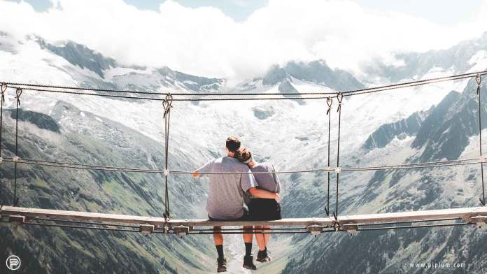 best-love-quotes-couple-nature-landscape-beauty-mountians-bridge
