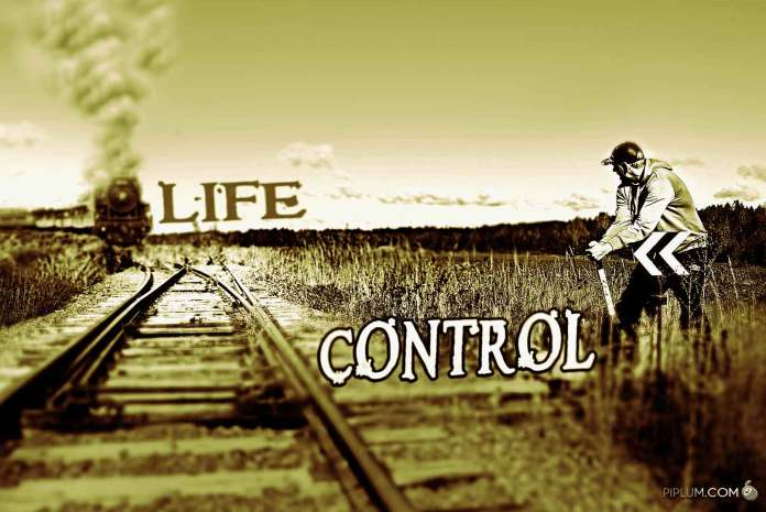 life-control-man-controling-path-of-the-train-and-his-life-inspirational-quote