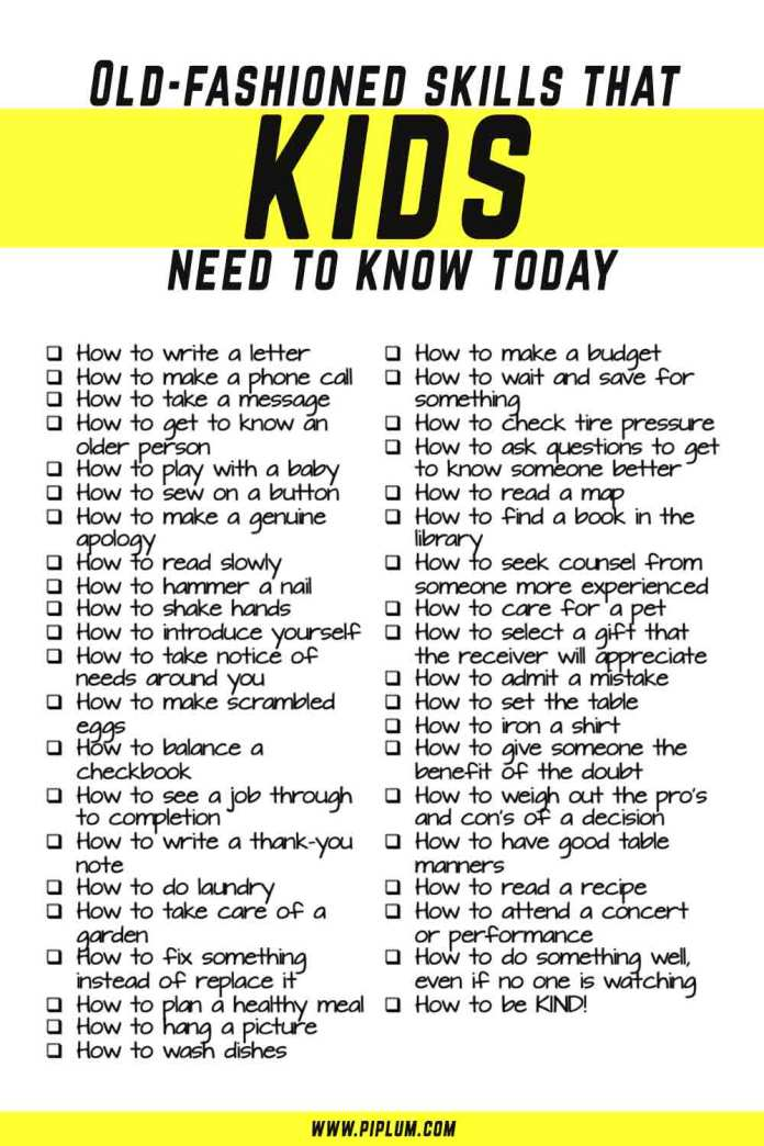 Life-skills-that-kids-need-today-Inspirational-parenting-poster