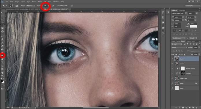 face retouching tutorial