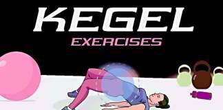 Kegel exercises for women infographic