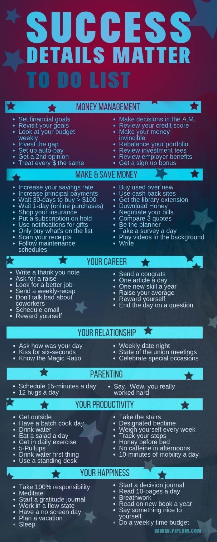 Success-details-matter-to-do-list-poster