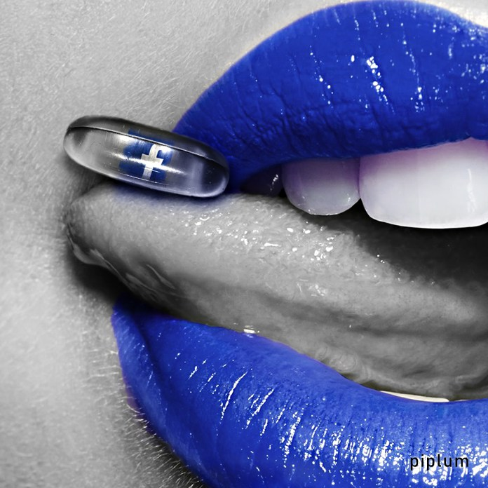 Facebook-pill-on-blue-lips-Social-network-art-Surreal-art-photo-manipulation-fashio