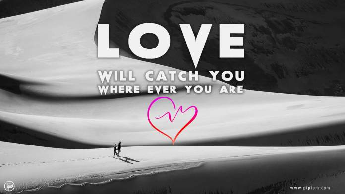 Love-will-catch-you-where-ever-you-are-inspirational-quote-desert-couple
