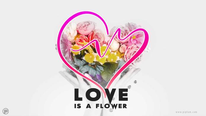 Love-Flower-quote-heart