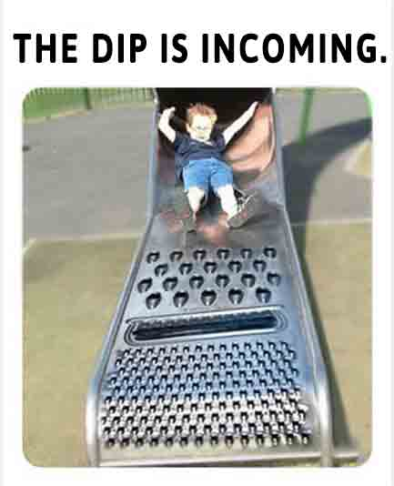 Some people say they were prepared for the dip. How can you prepare for this funny crypto slide