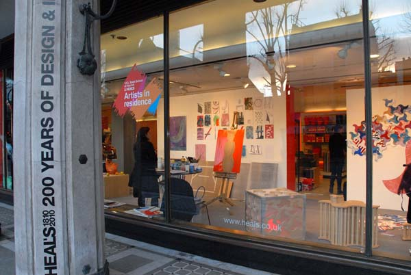 Students To Style The Windows At Heals Flagship Store Pippa Jameson Interiors