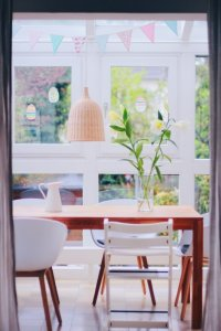 Simple Blumendeko by pippapiemaker.com