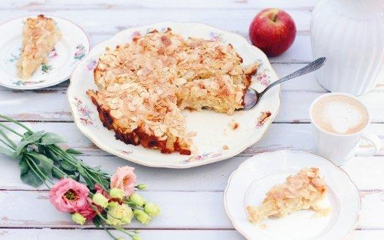 Der saftigste Apfelkuchen der Welt