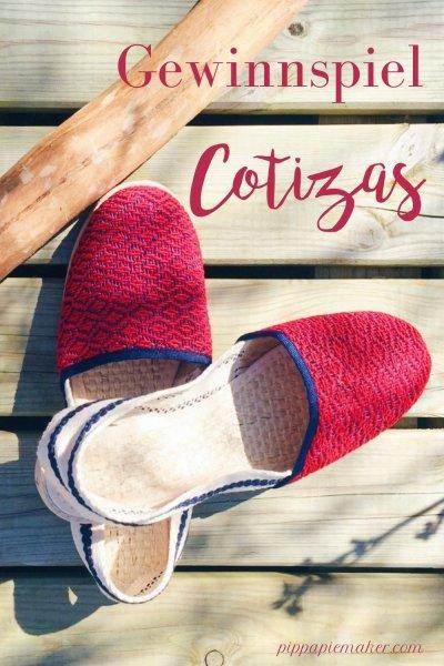 Den super schönen Sommerschuh, Cotizas aus Kolumbien, gibt es gerade zu gewinnen!