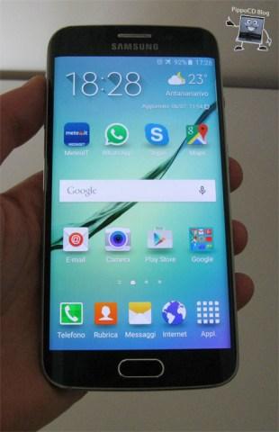 Samsung Galaxy S6 Edge Frontale