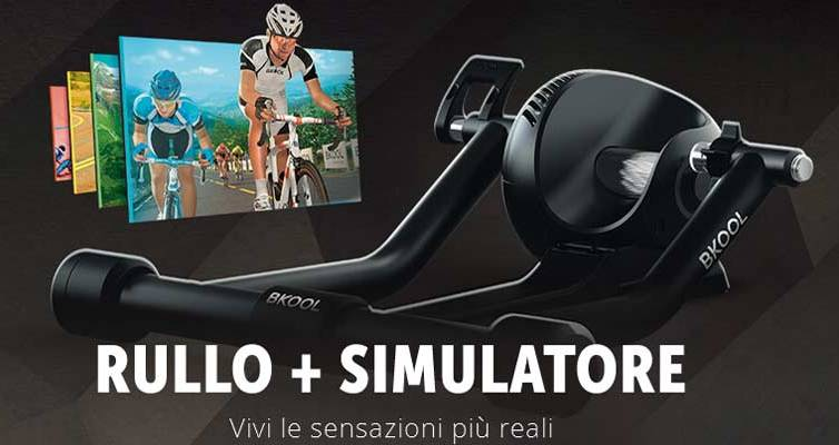 Bkool Pro Rullo simulatore bici
