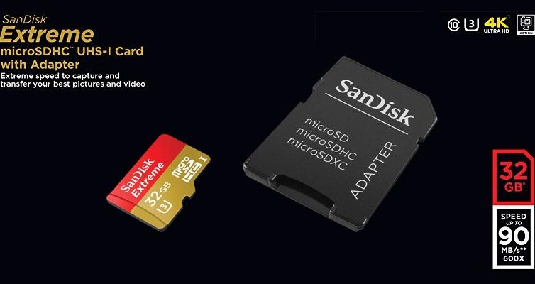 Sandisk Extreme microSD