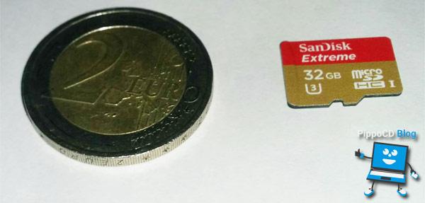 SanDisk Extreme microSDHC 32 GB