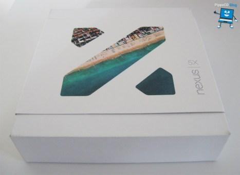 Nexus 5X scatola