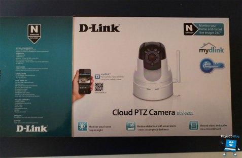 D-Link DCS-5222L Scatola