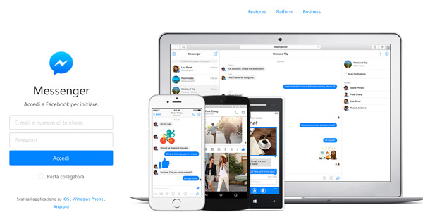Facebook Messenger Web