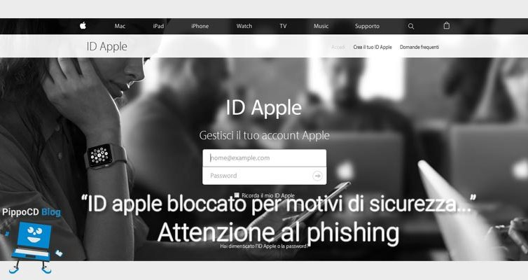 ID Apple Phishing