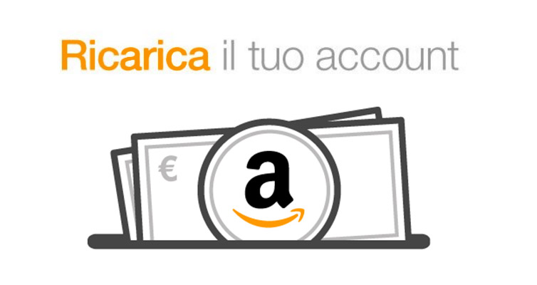 Ricarica account Amazon