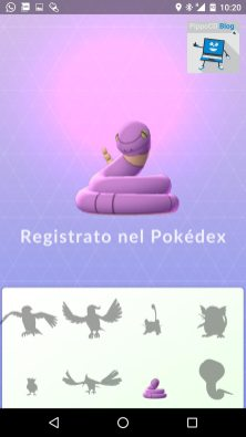 Pokemon Go cattura