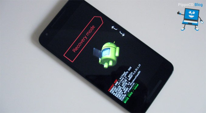 nexus 5x recovery mode android