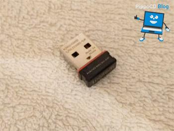 Logitech Keyboard K800 adattatore USB
