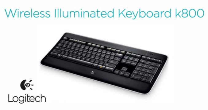 how to add logitech k800 wireless keyboard
