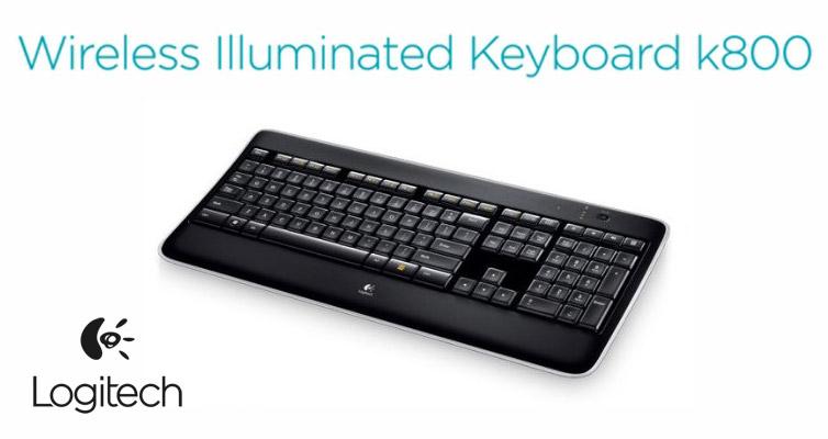 Logitech Wireless Illuminated Keyboard K800 Recensione