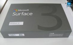 Microsoft Surface 3 scatola