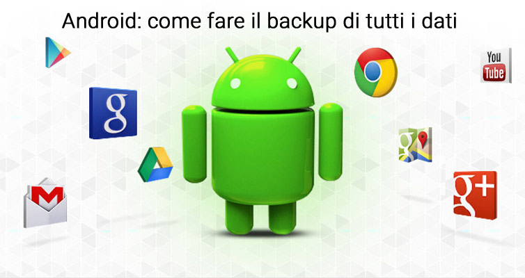 come fare backup android