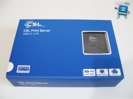 CSL Print Server scatola