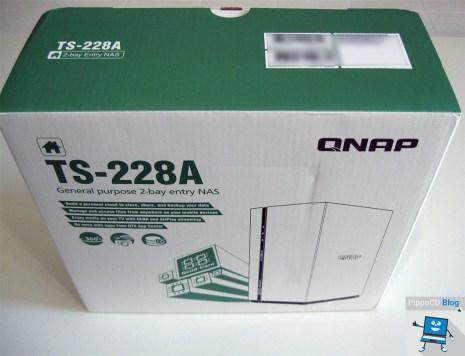 QNAP TS-228A scatola