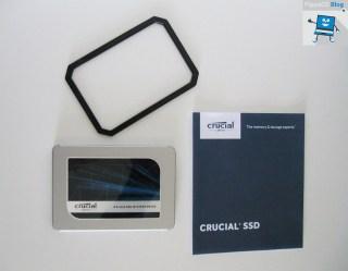 Crucial MX500 dotazione