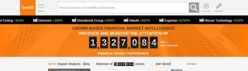 Sentfi misst Sentiment der Finanzmärkte