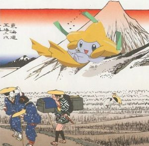 pokemon, Abraham Mascorro, ukiyo-e art
