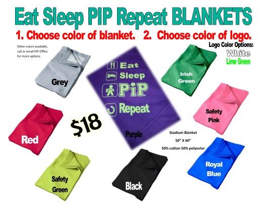 Eat sleep blankets