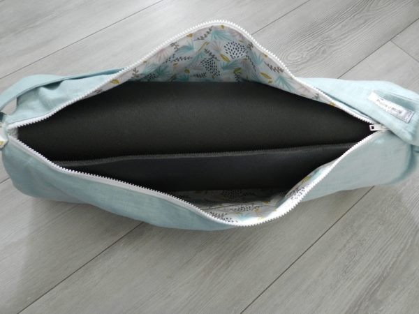 Yoga bag ouvert