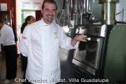 Chef Amador Fernandez - Horno brasa Pira 45 lux