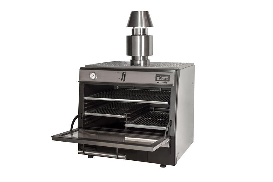 Pira-90-LUX-Inox+separador+varilla+varilla