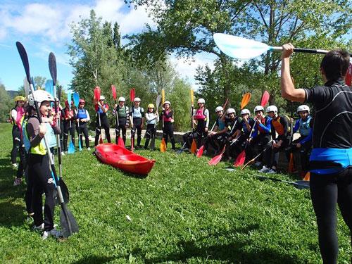 Actividad Conoce el Kayak