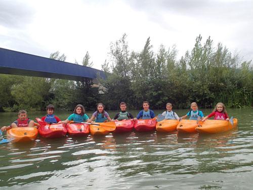 Actividad Domina Kayak para Niños